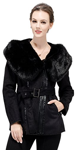 adelaqueen-womens-faux-suede-coat-jacket-with-hood-and-belt-black-size-s