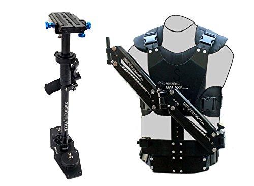 Shootville Galaxy Pro Dual Arm und Weste mit S6 Steadycam