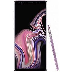 "Samsung Galaxy Note9 Smartphone, Viola (Lavender Purple), Display 6.4"", 128 GB Espandibili, Dual SIM [Versione Italiana]"
