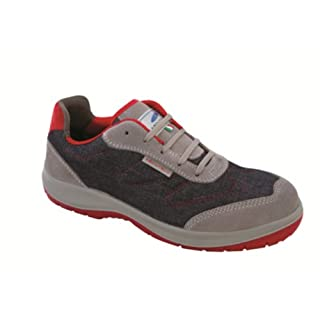 Aboutblu 1930106la _ 43Brooklyn Low S3Work Shoe, Size 43, Denim