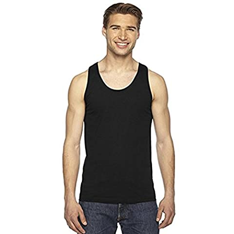 American Apparel - Pull sans manche - Moderne - Homme - noir - Small