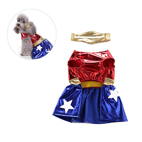 Zonfer Pet Shirt Costumes Puppy Funny Clothes Halloween Christmas Cosplay Festivals Clothing for Dogs