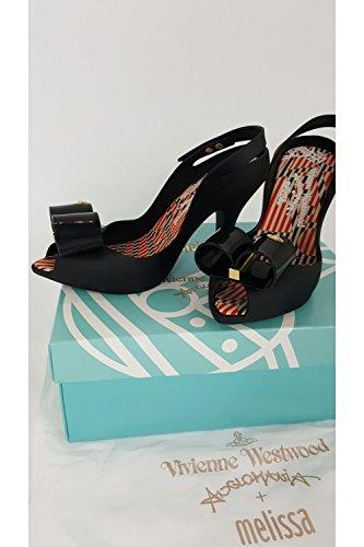 Vivienne Westwood + Melissa Lady Dragon Bow 17 Femme Sandales Noir Noir