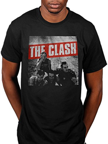Official The Clash Combat Rock T-Shirt for Men, S to 2XL