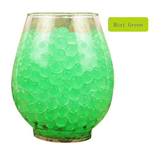 3000 PCS Wasser Perlen, Upxiang Magic Water Bullet Bälle, Super Large Water Beads, Water Growing Jelly Balls, Wasser Perlen Mud Grow, Magic Jelly Balls, Wedding Party Decoration Kids Toy Plant - Perlen Soil Crystal