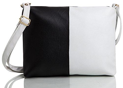 Mammon Women's Handbag Pu Leather Pink (Hslg-blcw,11x8x2.5 Inch)
