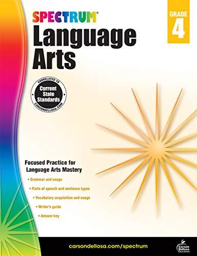 Spectrum Language Arts, Grade 4 (Spectrum 5 Language Arts)