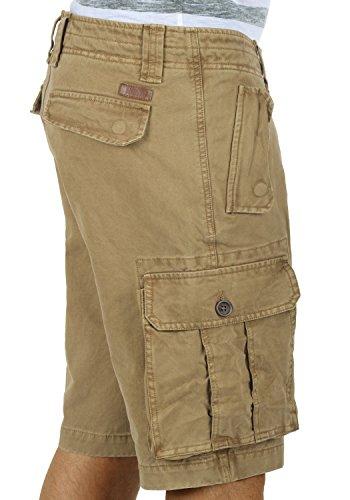 SOLID Pombal - Shorts Cargo da Uomo Sand (4073)