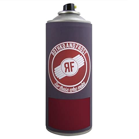 dartfords Tinted Nitrocellulose Guitar Lacquer (Red (Solid Heritage Cherry), 400ml Aerosol Spray Can)