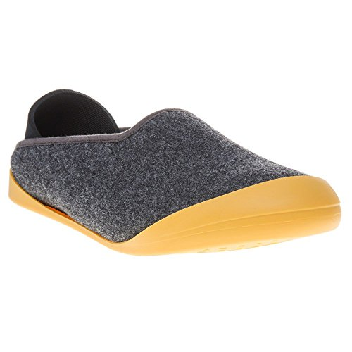 Uomo Classiche Pantofole Mahabis Grigie Mahabis Uomo 8qfvn01w