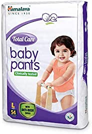 Himalaya Total Care Baby Pants Diapers, Large (8 - 14 kg), 54 Count