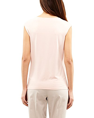 Comma - 85.899.33.0192, T-Shirt Donna Elfenbein (light peach 2013)