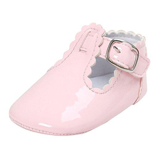 Etrack-Online  Baby Mary Jane Shoes, Baby Mädchen Lauflernschuhe Rose