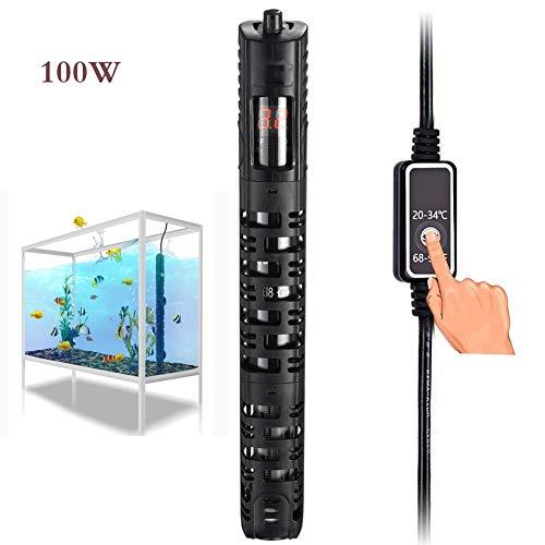 Aquarienheizer 50W / 100W Aquarium Heizung Hochleistung Bei Temperatur Digital Display HeizvorrichtungenfürAquarien (Size : 50W)