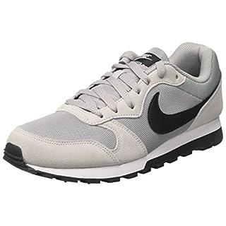 Nike Herren Sneaker MD Runner 2, Herren Sneaker, Grau (Wolf Grey/Black/White 001), 43 EU