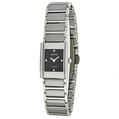 Rado - Reloj de pulsera mujer, cerámica, color plateado