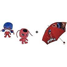 Prodigiosa, Las aventuras de Ladybug - Pack Paraguas + Peluches LadyBug & Tikki 7