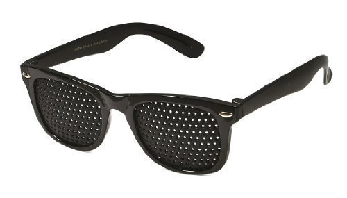 Occhiali di griglia SSG, plus gratis Augentraining su CD! 3 Anni Garanzia Foro di perno occhiali Cruna dell'ago