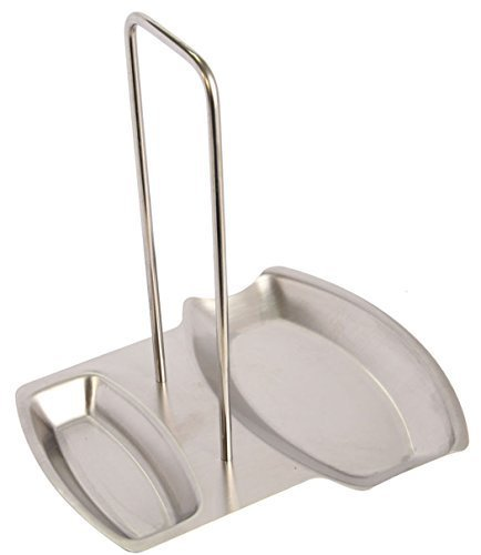 ECO-BEST(TM) 18/8 STAINLESS STEEL POT LID AND SPOON REST by N/A -