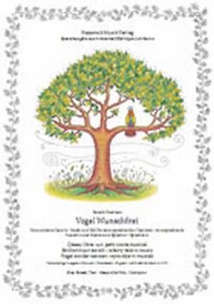 VOGEL WUNSCHFREI - EINE MODERNE FABEL IN MUSIK UND BILD - arrangiert für Sopran - Klavier - mit CD [Noten / Sheetmusic] Komponist: POELMAN RONALD