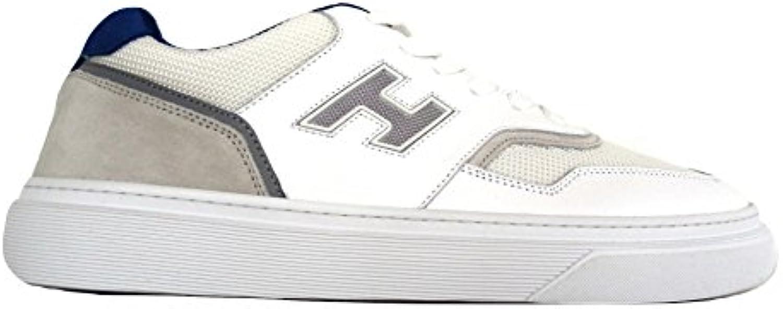 Hogan Herren Sneaker Weiß Bianco + Blu