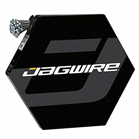 Jagwire Mountain Brake Cable Slick Galvanized SRAM/Shimano Câbles de frein 100 pièces 1,5 x 1700 mm