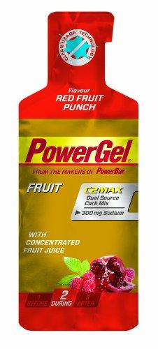 PowerBar PowerGel Red Fruit Punch, 6er Pack (6 x 41 g)