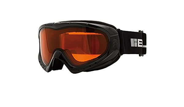 3613194fc42a BLOC SKI - SNOW BOARDING GOGGLES - BLACK - UNISEX - MODEL NUMBER XT6000 -  DOUBLE LENS  Amazon.co.uk  Sports   Outdoors