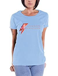 David Bowie 'Aladdin Sane Eye Flash' Womens Fitted T-Shirt