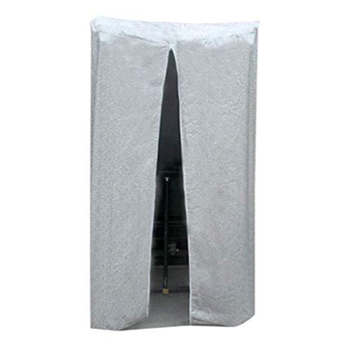 QIANCHENG-tarpaulins Laufband-Abdeckung Staubschutz Feuchtigkeitsfest Für Zuhause Wasserdicht Plane,3 Farben,Mehrere Größen,SliverGray-100x80x150cm