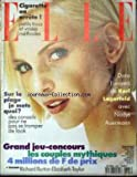 ELLE [No 2585] du 17/07/1995 - CIGARETTE ON ARRETE - SUR LA PLAGE JE METS QUOI ? - DANS L'UNIVERS DE KARL LAGRFELD AVEC NADJA AUERMANN - RICHARD BURTON - ELIZABETH TAYLOR.