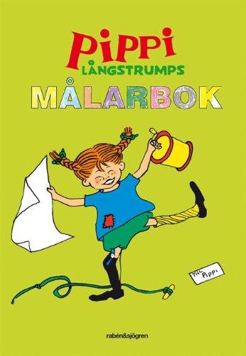 Pippi Långstrumps målarbok : Målarbok por Astrid Lindgren