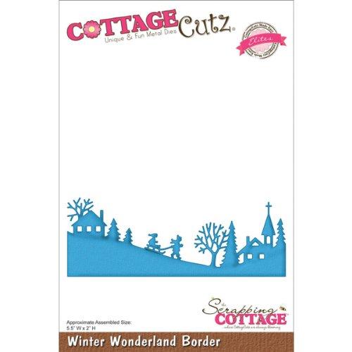 Cottage Cutz 2Winter Wonderland Border Eliten sterben Schnitte - Cutz Cottage