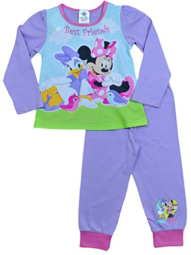 Image of ThePyjamaFactory Disney Minnie Mouse and Daisy Duck Pyjamas 1 to 5 Years W15 (3-4 Years)