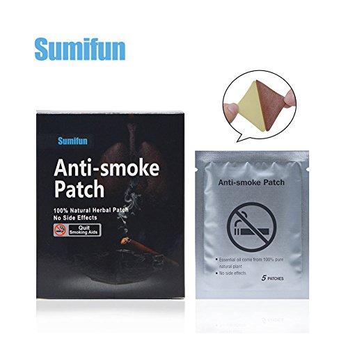 Yiwa - Parche antihumo para dejar de fumar o dejar de fumar, 35 unidades