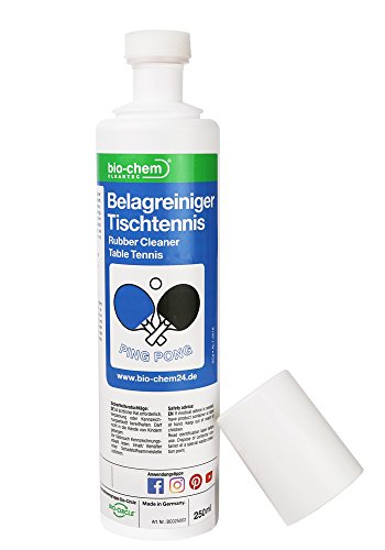 Bio-Chem Belagreiniger Reiniger Tischtennisschläger-Pflege VOC-frei 250 ml