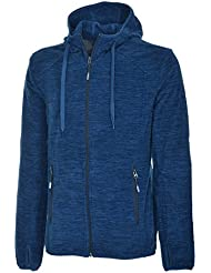 McKinley Dawson chaqueta de forro polar para hombre colour azul marino de forro polar, hombre, color  - azul, tamaño XXL