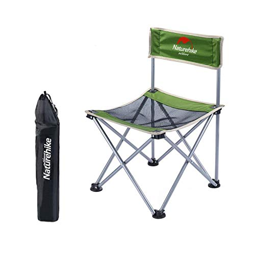 GWFVA Angelstuhl Chaiselongue Barbecue Camping Mesh Klappstuhl