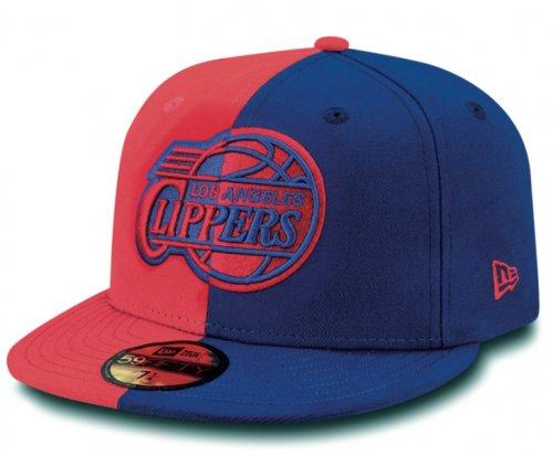 New Era Herren Fitted Cap NBA 2 Tone LA Clippers blau blau 7 1/4 - 57,7cm Two Tone Fitted Cap