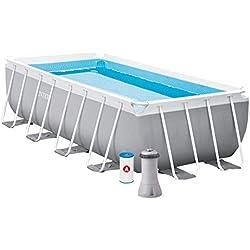 INTEX Kit piscine Prism Frame rectangulaire 4.88 x 2.44 x 1.07 m