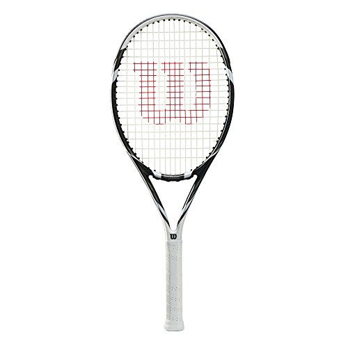 WILSON Six.Two TNS Rkt W/O Racchetta da Tennis, Unisex Adulto, Unisex Adulto, Six.Two TNS RKT W/O, Nero/Bianco (Nero/Bianco), 3