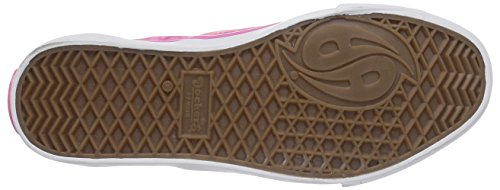 Dockers by Gerli - 36cz603-710775, Sneaker basse Bambina Rosa (Pink (pink/weiss 775))