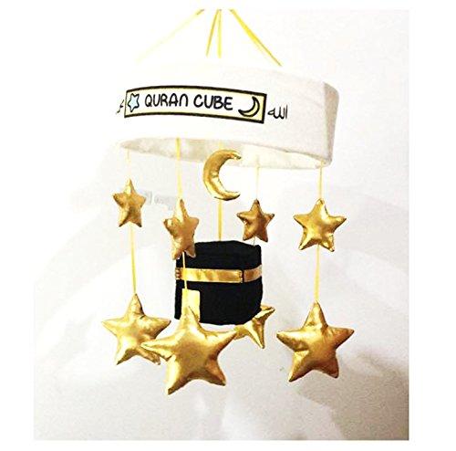 Quran mit Islam-Kaaba Quran und nasheeds Baby Kinderbett Mobile