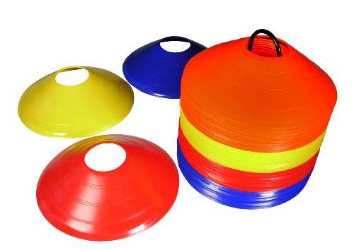 bentley-lot-de-50-plots-marquage-delimitation-entrainement-multicolore