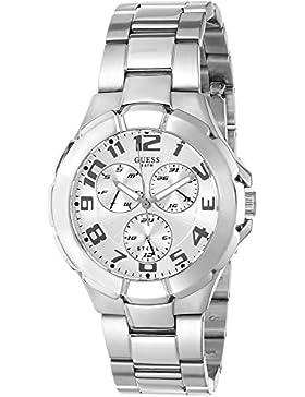 Guess Damen-Armbanduhr Analog Edelstahl W13582L2