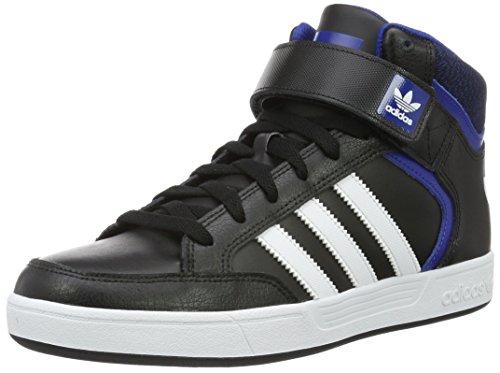 adidas Varial Mid, Scarpe da Skateboard Uomo, Nero (Negbas / Ftwbla / Reauni), 43 1/3 EU