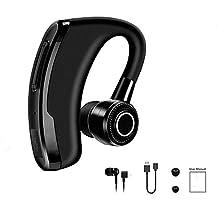 HHLUW Auriculares Inalámbricos Bluetooth De Izquierda A Derecha Única Oreja Auricular Inalámbrico Bluetooth para Teléfono Manos