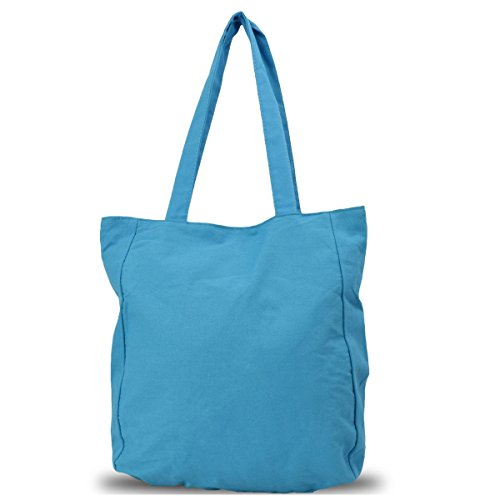 Borsa Shopper Jacquard Sonia Originelli Shopper Colore Blu Blu