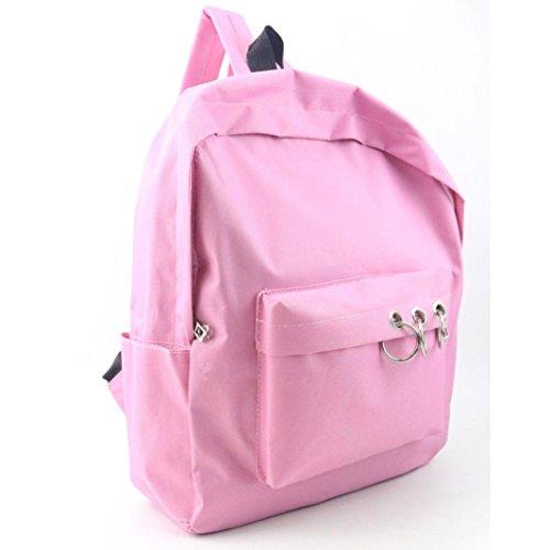 Bzline® Borsa Da Viaggio Borsa Da Viaggio In Tela Moda Donna, 28cm * 9cm * 37cm Rosa