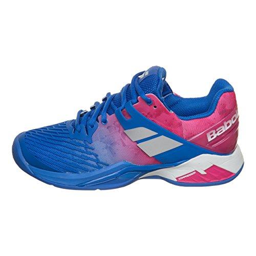 Babolat Donna Propulse Fury Clay Scarpe Da Tennis Scarpa Per Terra Rossa Blu - Rosa 37